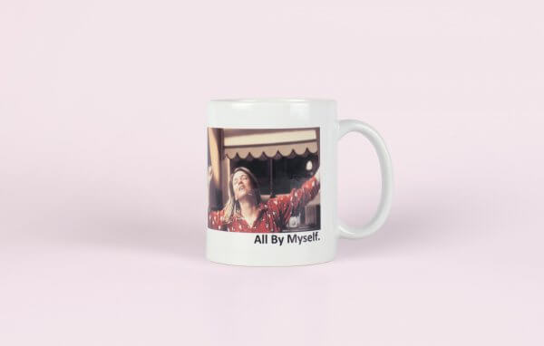 La Donna Cannone Berlin Shop Tasse Bridget Jones - All by myself - Merchandise-