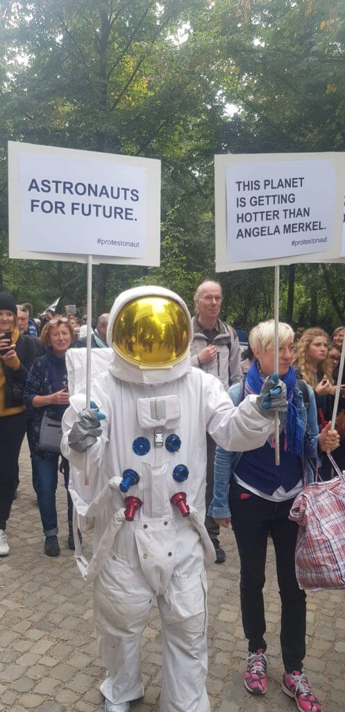Klimastreik Friday for Future La Donna Cannone Berlin Blog