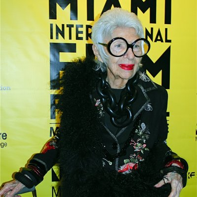 #WomensCrushWednesday Iris Apfel
