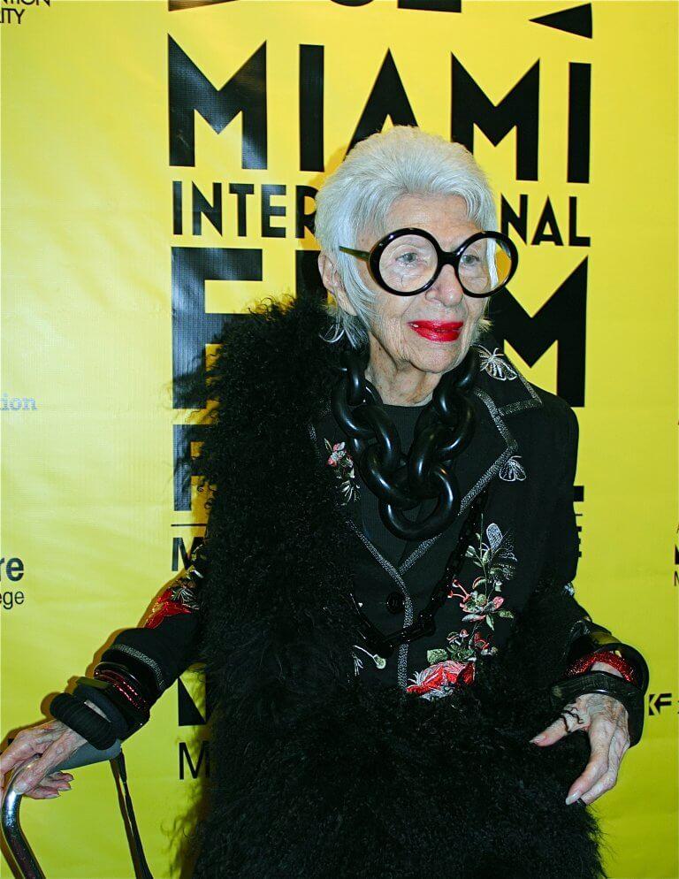 La Donna Cannone Berlin #womenscrushwednesday Iris Apfel