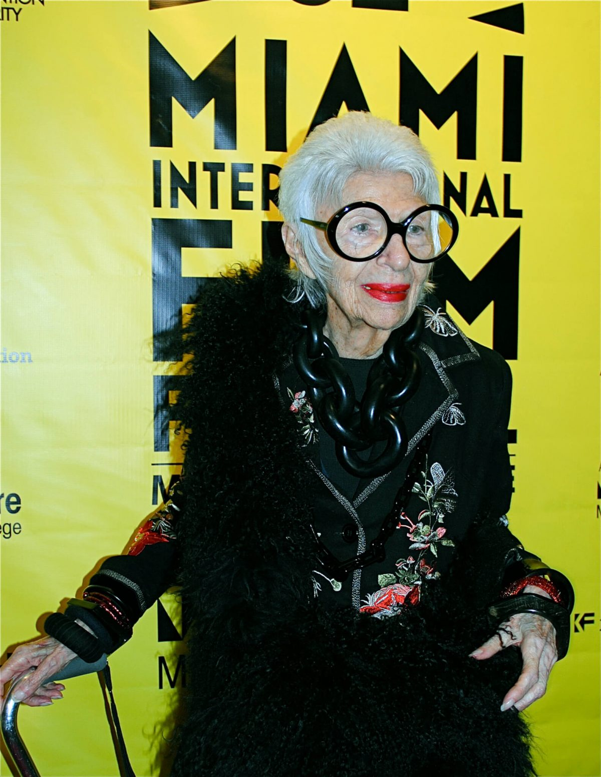 La Donna Cannone Berlin #womenscrushwednesday Iris Apfel